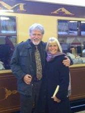 Debono's boarding the Orient Express