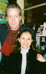 Rhys Ifans and tour member